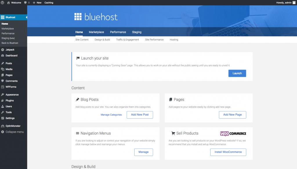 Your self-hosted WordPress teacher blog dashboard