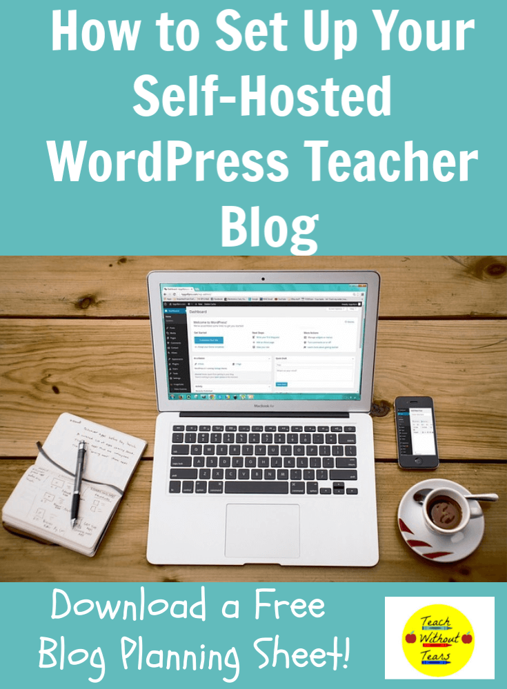 If you're ready to set up a self-hosted WordPress teacher blog, this post will walk you through the steps.