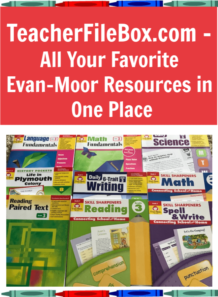 Get all of your favorite Evan-Moor teaching resources at Teacherfilebox.com.