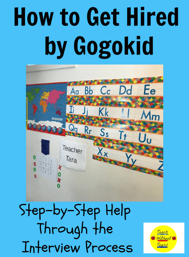 Teaching online for Gogkid is a great way for teachers to make some extra money. Find out all about the steps of the interview process, and sign up today.