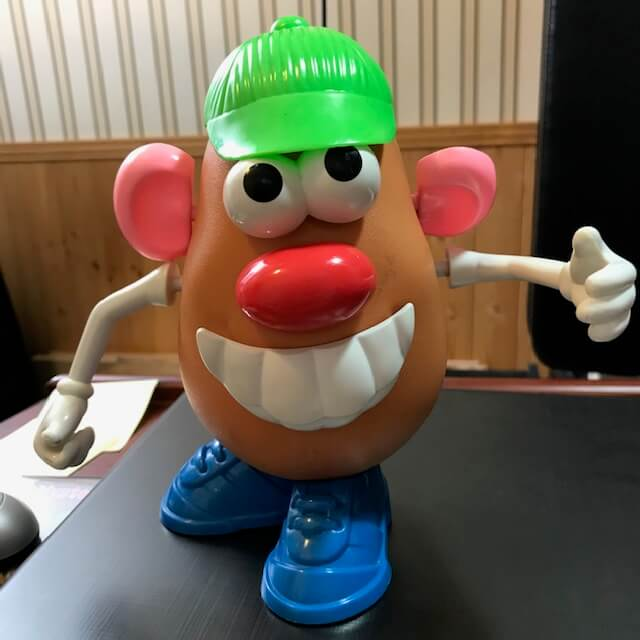 Mr. Potato Head Gogokid prop
