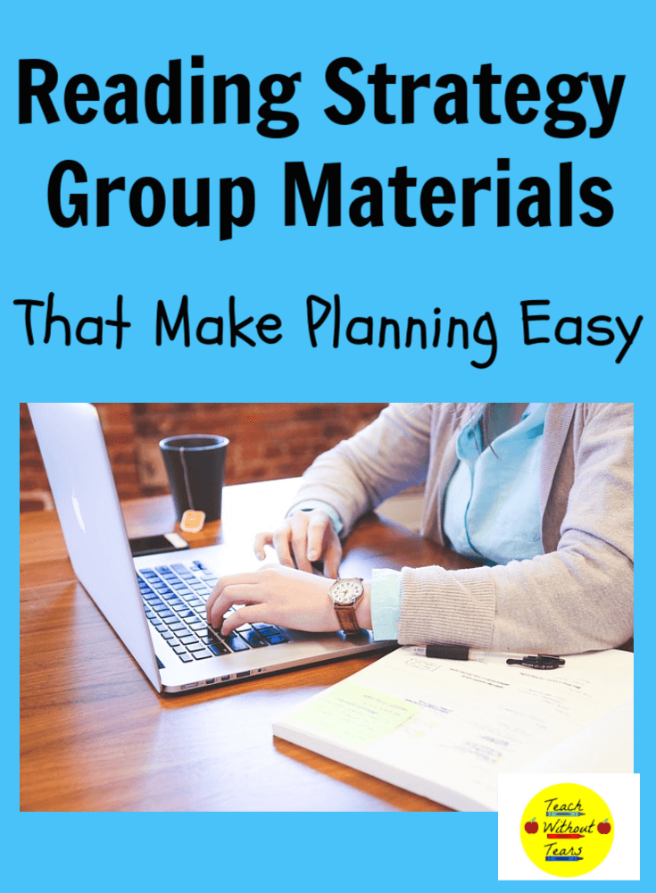 Finding reading strategy group materials is the most time consuming part of planning for these small groups. Check out these amazing resources that will make planning easy.