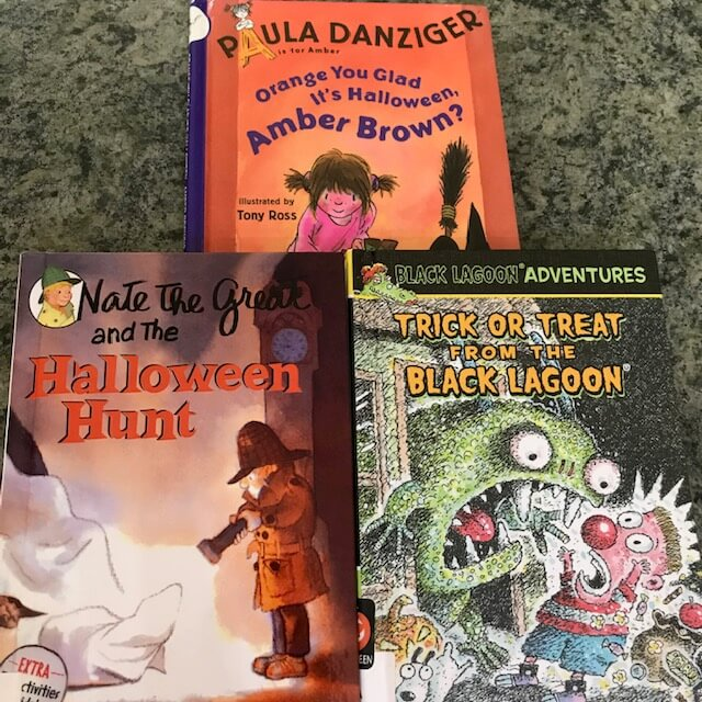 chapter books for Halloween read alouds