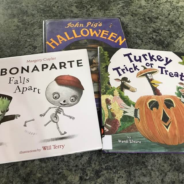 picture books for Halloween read alouds