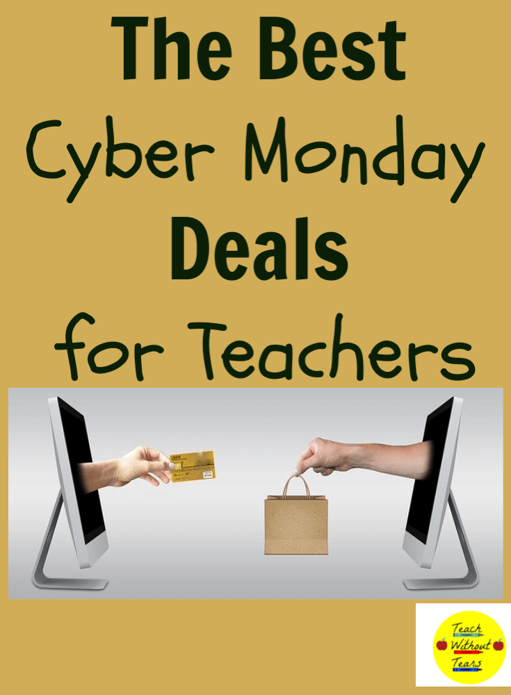 Cyber Monday is almost here. Discover some of the best Cyber Monday deals for teachers.
