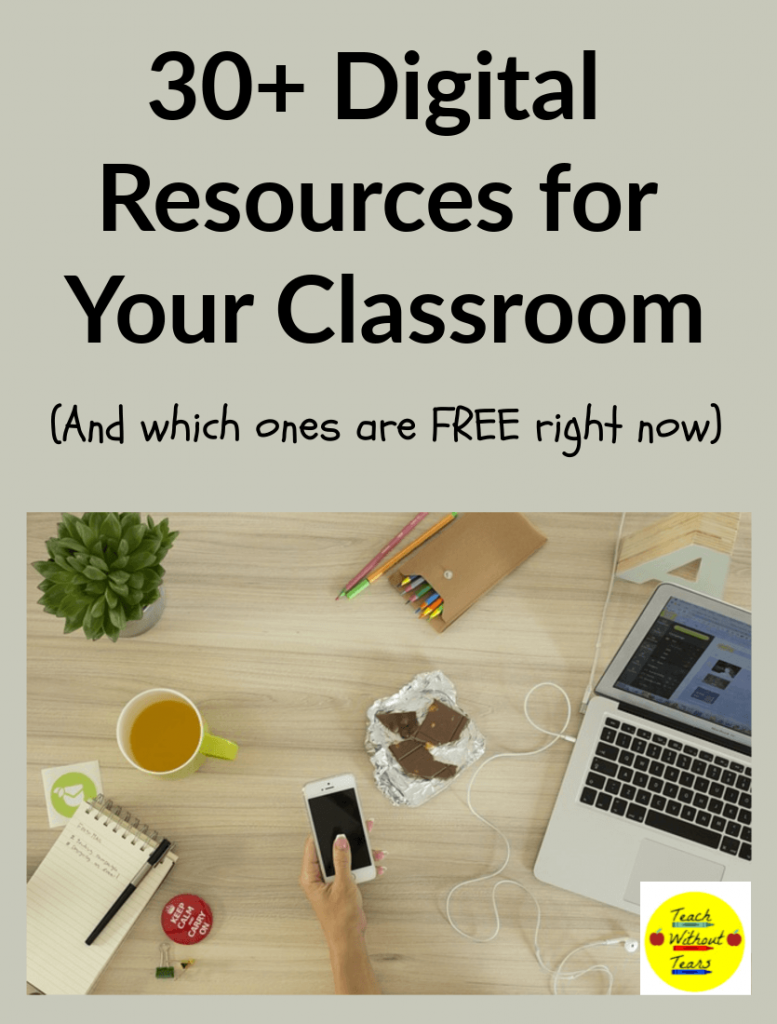Use these 30+ digital resources to teach your students while schools are closed due to coronavirus.