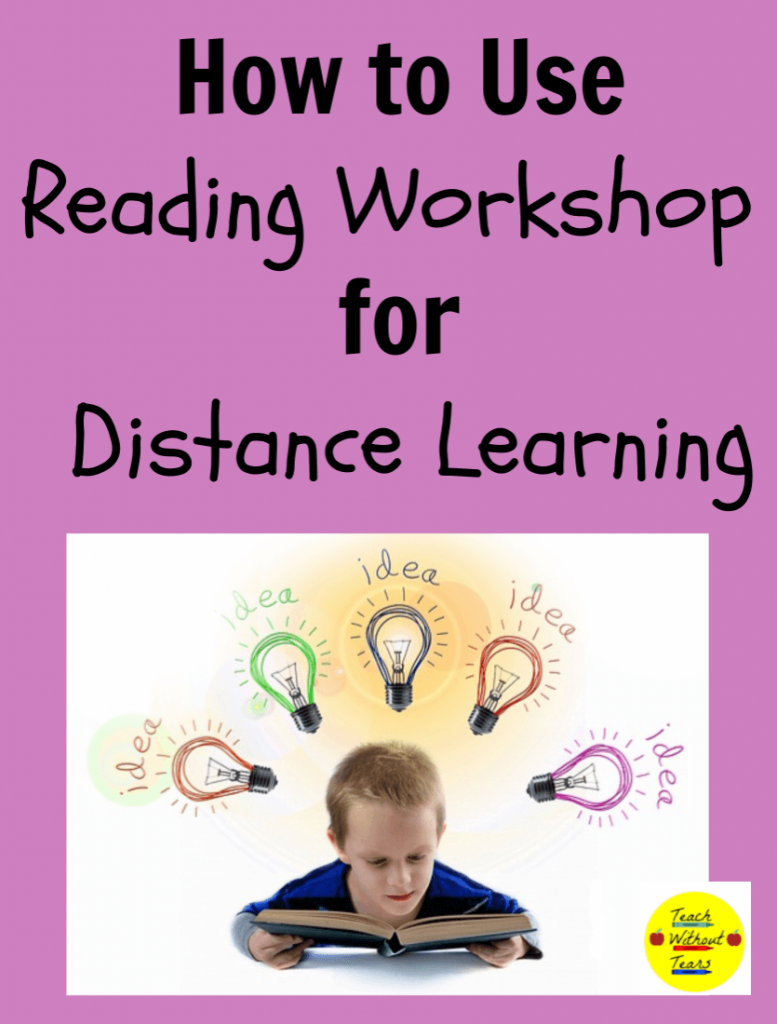 Planning for distance learning can be challenging. Use these tips to use reading workshop for distance learning.