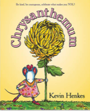 Chrysanthemum is a great book to use to teach summarizing and finding themes.