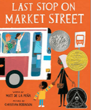 Last Stop on Market Street is a great book to use to teach summarizing and finding themes.