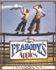 Mr. Peabody's Apples is a great book to use to teach summarizing and finding themes.
