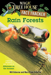 Use the Magic Tree House Research Guide on Rain Forests to teach asking and answering questions in informational texts.
