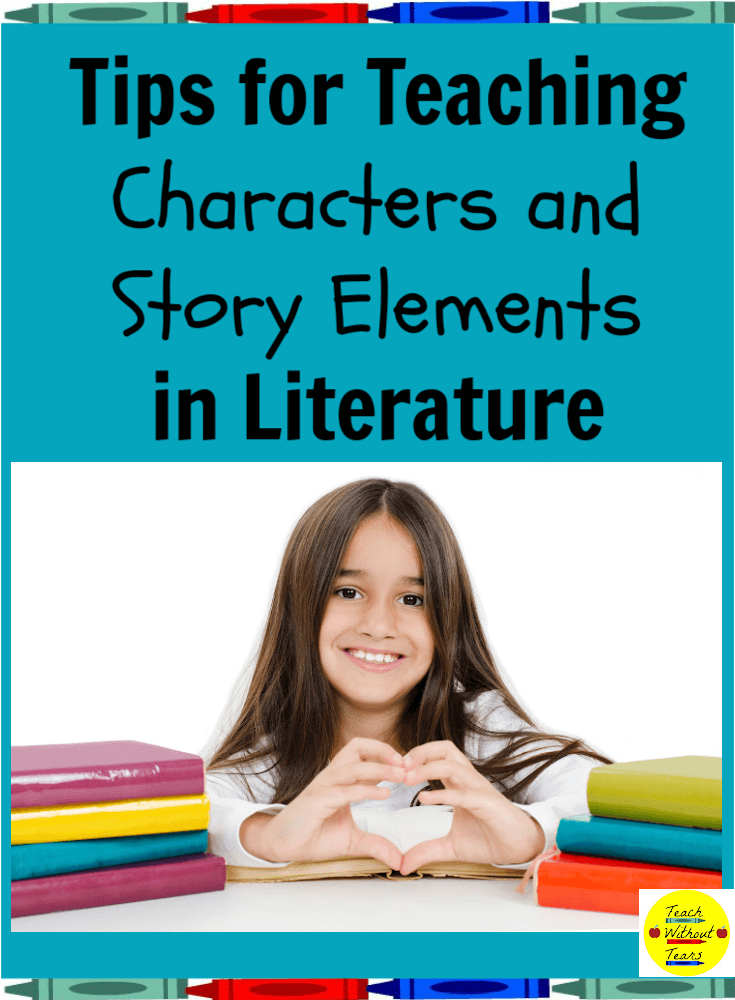 Let's break down the third reading literature standard and learn some tips for teaching about characters and story elements.