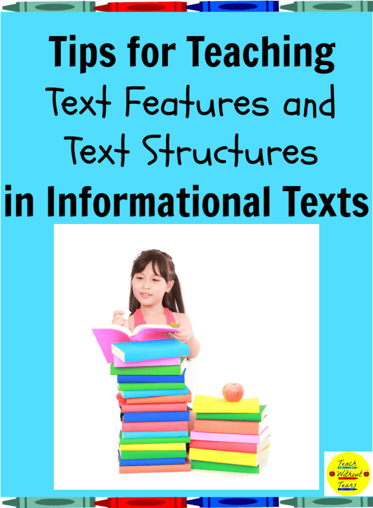 Let's break down the fifth reading informational texts standard and learn some tips for teaching text features and text structures in informational texts.